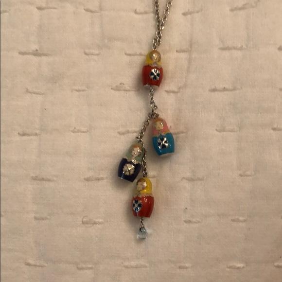 Jewelry - Nesting Doll necklace
